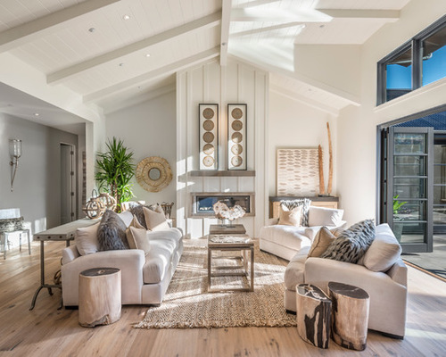 6 Ways To Rock The Trendy White And Wood Combo In The Living Room